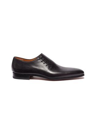 首图 - 点击放大 - Magnanni - 斜侧系带真皮牛津鞋