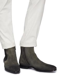 MAGNANNI 绒面真皮切尔西靴