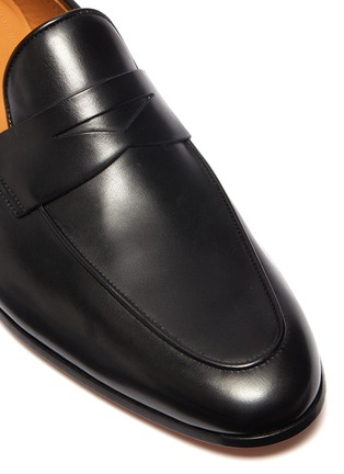 细节 - 点击放大 - MAGNANNI - 真皮乐福鞋