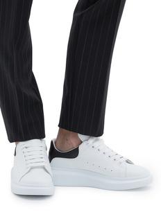 Alexander McQueen Larry拼色真皮厚底运动鞋
