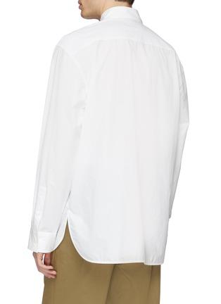 背面 - 点击放大 - Marni - 暗条纹细节宽松府绸衬衫