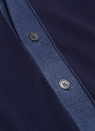 - Marni - 拼色混初剪羊毛针织开衫