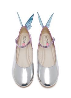 Sophia Webster Chiara儿童款立体蝴蝶翅膀真皮玛丽珍鞋