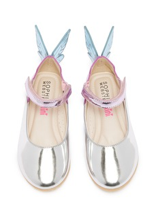 Sophia Webster Chiara幼儿款立体蝴蝶翅膀真皮玛丽珍鞋