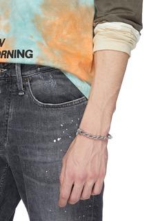 Emanuele Bicocchi 绳索设计纯银手链