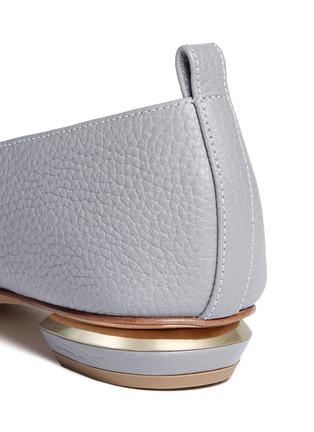 细节 - 点击放大 - NICHOLAS KIRKWOOD - BEYA金属鞋跟真皮乐福鞋