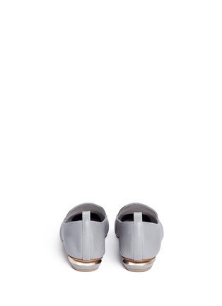背面 - 点击放大 - NICHOLAS KIRKWOOD - BEYA金属鞋跟真皮乐福鞋