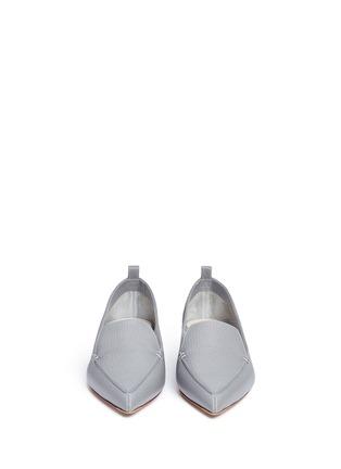 正面 -点击放大 - NICHOLAS KIRKWOOD - BEYA金属鞋跟真皮乐福鞋