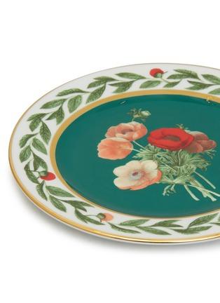 细节 –点击放大 - LA DOUBLEJ - 花朵图案陶瓷甜品盘两件套