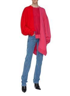 Ben Taverniti Unravel Project 不对称拼接设计卫衣