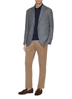 Brunello Cucinelli 仿两件纯棉珠地布polo衫