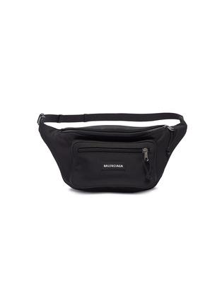 细节 - 点击放大 - Balenciaga - Explorer品牌名称腰包