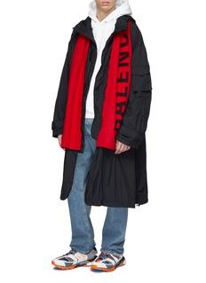 BALENCIAGA Everyday logo羊毛围巾