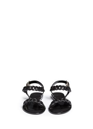 正面 - 点击放大 - GIVENCHY - 锁链造型果冻凉鞋