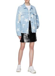 Stella McCartney 五角星水洗棉质牛仔夹克