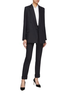 STELLA MCCARTNEY oversize细条纹西服外套