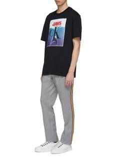 Calvin Klein 205W39NYC 电影海报印花oversize T恤