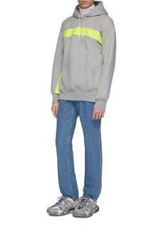 Calvin Klein 205W39NYC Logo大白鲨印花水洗牛仔裤