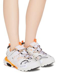 Balenciaga Track真皮拼接网眼布运动鞋