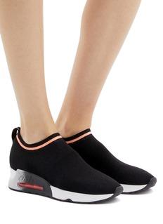 ASH Loveless闪亮针织袜靴式低筒运动鞋