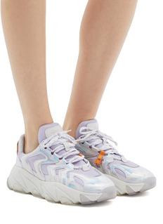 ASH Extreme幻彩真皮拼接网眼布oversize运动鞋