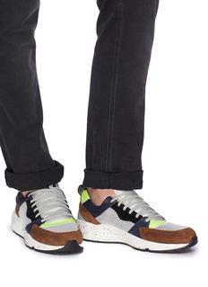 P448 A8 Alex泼墨鞋底拼接设计运动鞋