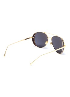 Linda Farrow 飞行员太阳眼镜