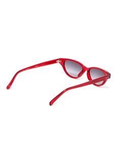 Linda Farrow 猫眼板材渐变太阳眼镜