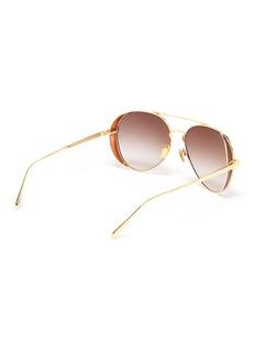 Linda Farrow x Alessandra Ambrosio飞行员太阳眼镜