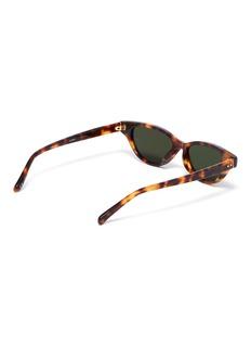 LINDA FARROW 猫眼板材太阳眼镜