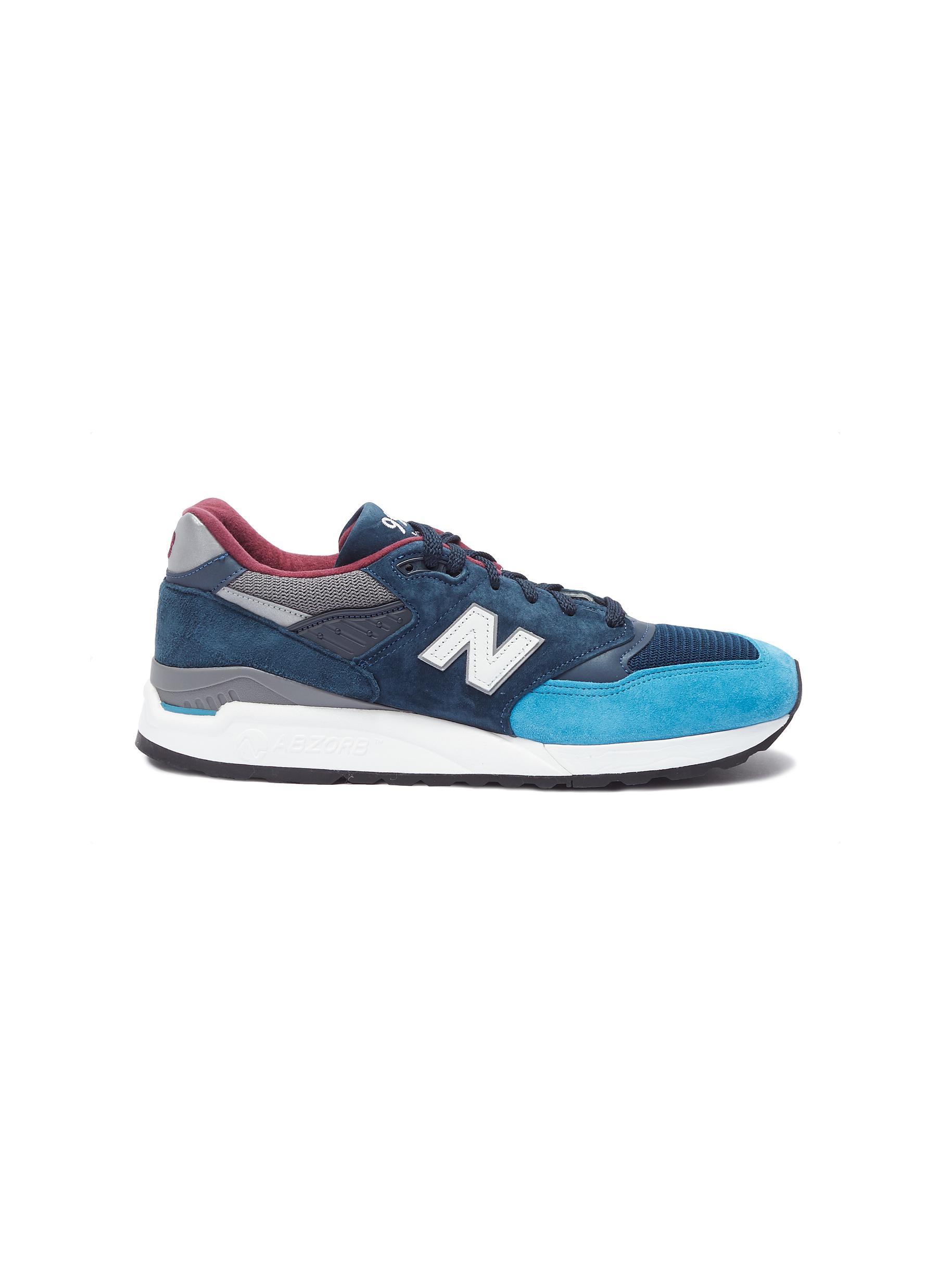 check out b0c57 86876 Balance Sneakers  miusa Suede Lane 998  New Colourblock 男士 qSTPXxw