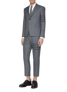 Thom Browne 四重条纹混羊毛斜纹布西服外套