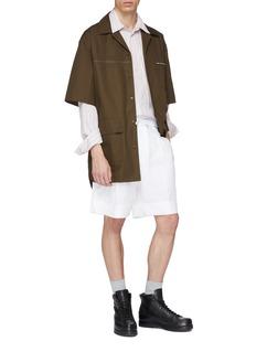 3.1 PHILLIP LIM 拉链口袋纯棉衬衫