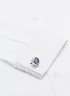 Tateossian 青金石表面不锈钢袖扣