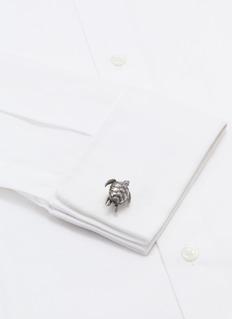 TATEOSSIAN 可活动式海龟氧化金属袖扣