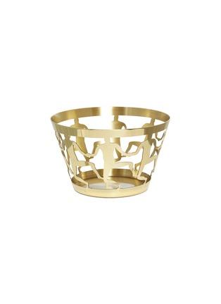 首图 –点击放大 - GHIDINI 1961 - 中号舞蹈人像镂空黄铜碗-金色