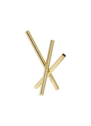 首图 –点击放大 - GHIDINI 1961 - Sticks管状黄铜花瓶-金色
