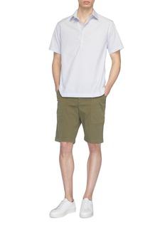 BARENA Camicia Pioppa条纹短袖衬衫