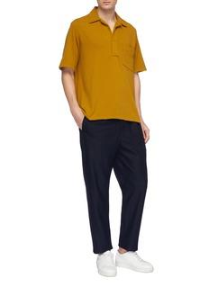 CAMOSHITA 纯棉针织polo衫