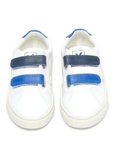 Veja Esplar幼儿款拼色魔术贴搭带真皮运动鞋