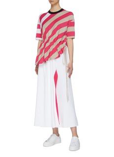 MRZ 条纹针织半裙