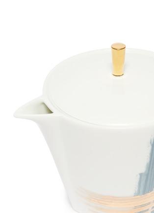 细节 –点击放大 - ANDRÉ FU LIVING - Brush大号笔触印花陶瓷茶壶