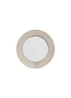 André Fu Living Vintage Modern几何图案围边陶瓷水果盘-米色及金色