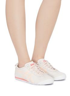 Onitsuka Tiger Mexico 66条纹绒面皮拼接运动鞋