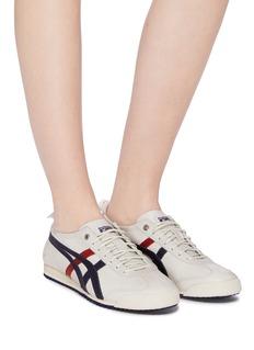 Onitsuka Tiger Mexico 66 SD拼色条纹牛皮运动鞋