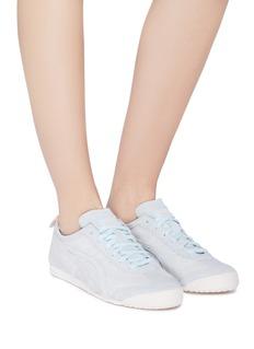 Onitsuka Tiger Mexico 66镂空合成绒面皮运动鞋