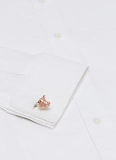 DEAKIN & FRANCIS 可活动式小猪造型纯银袖扣