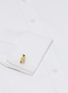 DEAKIN & FRANCIS 喇叭造型镀金纯银袖扣