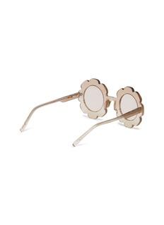 SONS+DAUGHTERS EYEWEAR Pixie儿童款花卉造型闪粉太阳眼镜