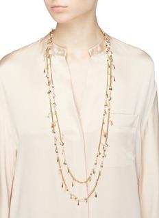 Rosantica Indios珠饰缀饰双层项链